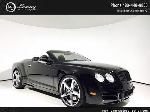 1376a 2007 Bentley Continental Gt Conv Mansory Kit Scottsdale