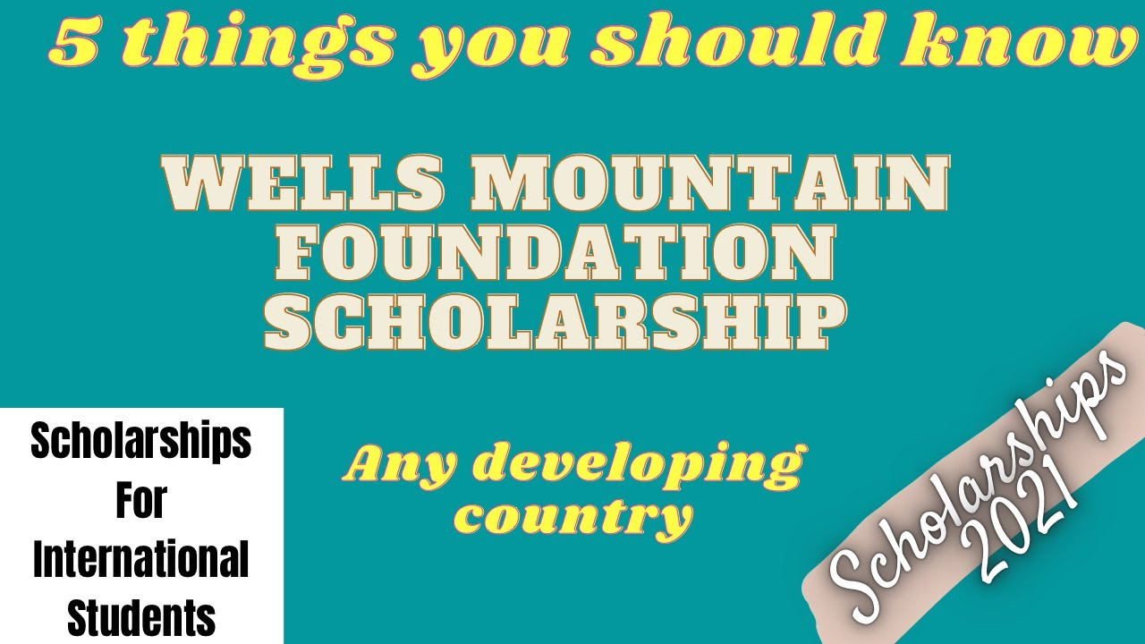 WMF Empowerment Through Education Scholarships | Scholarships 2021