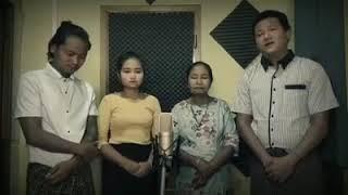 လမင္းသာခ်ိန္ ေနက ြယ္ခ်ိန္=La. min: tha chein Nei kwe chein_Daw Win Mar Kyi's Family