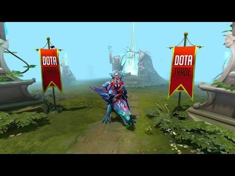 Anguilla Disruptor mount custom animation preview Dota 2