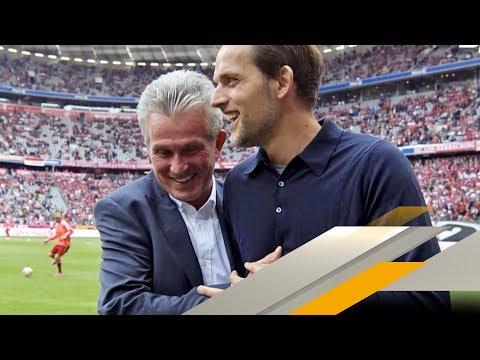 Thomas Tuchel gratuliert Jupp Heynckes zum Bayern-Job | SPORT1