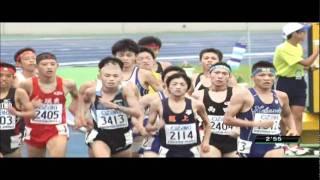 第38回全日本中学校陸上競技選手権大会  男子1500m決勝