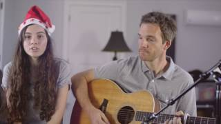 Jingle Bell Rock Acoustic Cover - Andrea and Sean