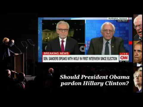 Sanders Exposes Himself as the Luciferian's SCUM BAG SHILL He Is
