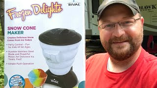 Video Rival Frozen Delights Snow Cone Maker | Cool Off While Camping download MP3, 3GP, MP4, WEBM, AVI, FLV September 2018