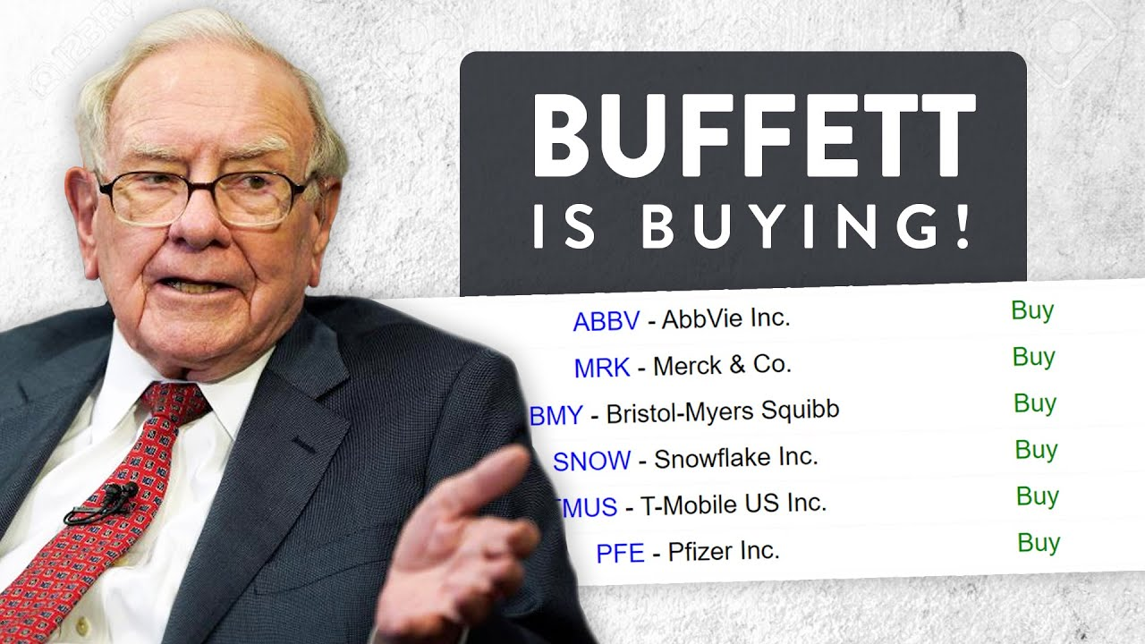 Warren Buffett is BUYING! Pharmaceuticals in, banks out? (Berkshire Q3 13F)