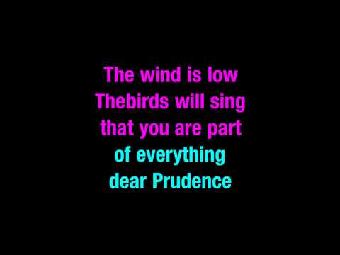 Dear Prudence The Beatles Karaoke - You Sing The Hits