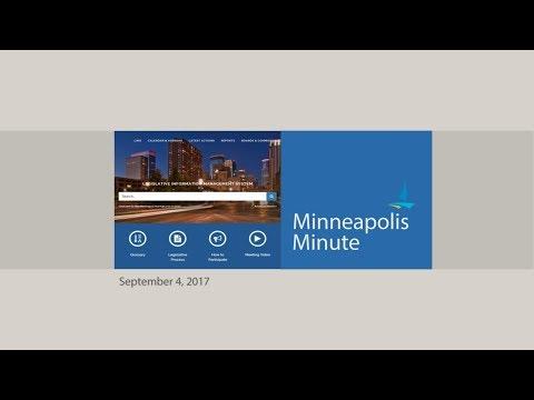 Minneapolis Minute, September 4, 2017
