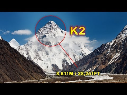 K2 Mountain The Second Highest Mountain In The World