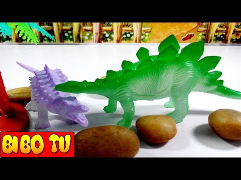 Dinosaur Toys For Children - Dinosaur War - Khủng Long Đại Chiến - игрушки динозавры