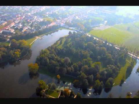 Der Wörlitzer Park aus der Vogelperspektive