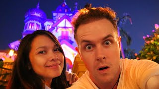 Disneyland at night time is awesome!