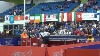 World Veterans Championships table tennis 2014 Women FINALS