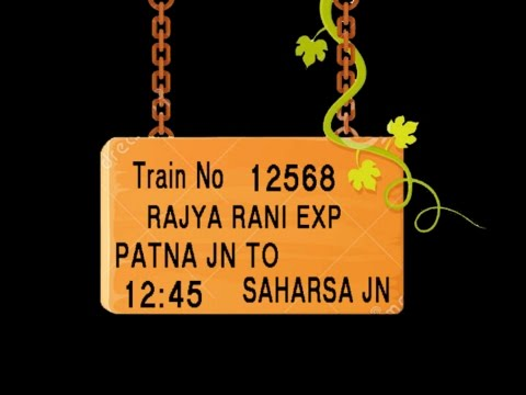 Train no 12568 TRAIN NAME RAJYA RANI EXP PATNA JN BAKHTIYARPUR JN MOKAMEH JN