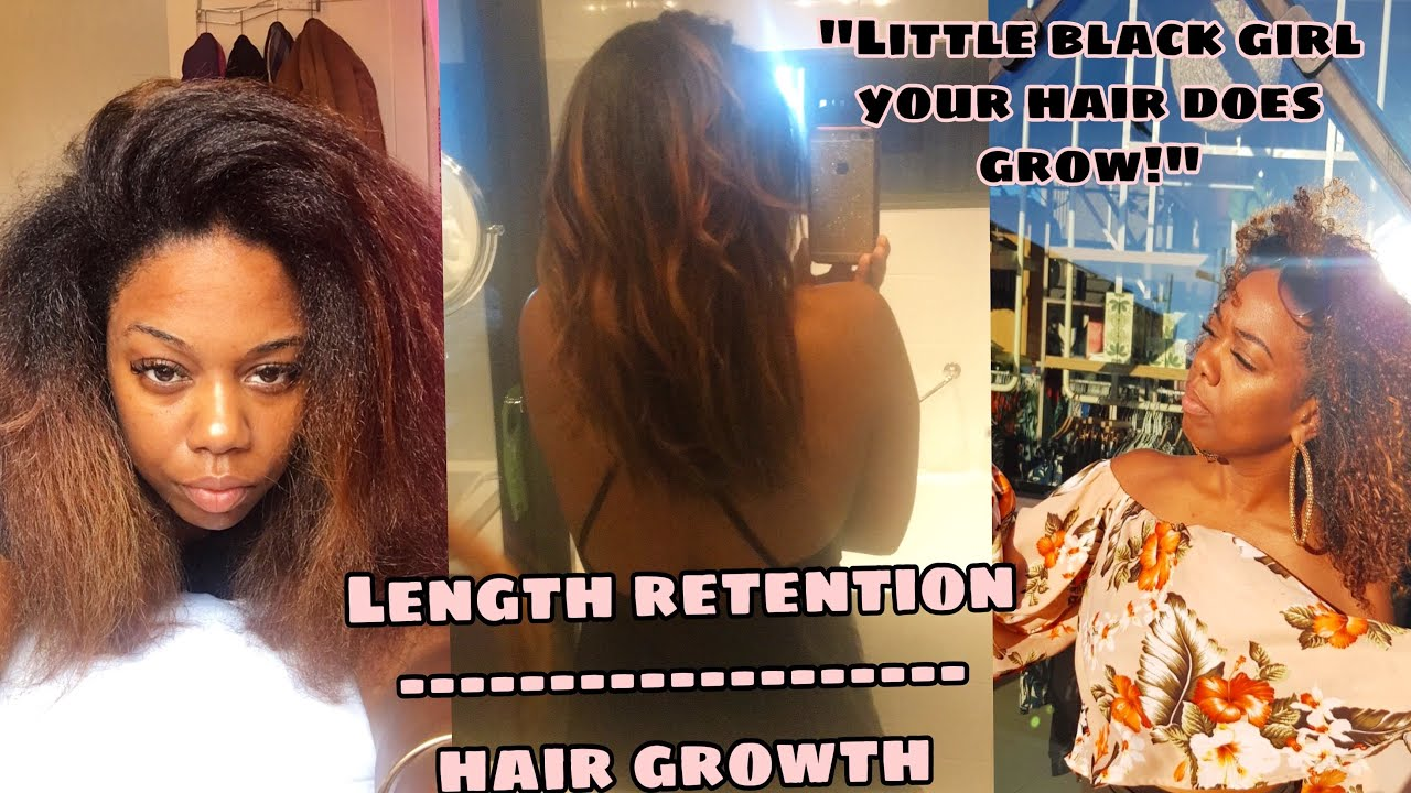Length retention OVER hair growth! - For newly naturals episode 2