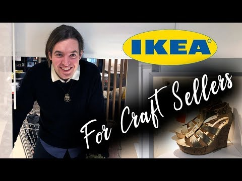 Craft Booth Display Ideas from IKEA / Ikea hacks and DIYS 2019 / Craft Shows Tips and Tricks