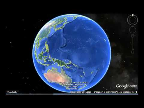 Marshall Islands Google Earth View