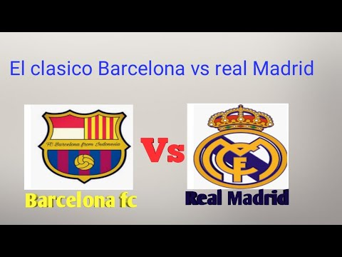 Live Streaming El Clasico Barcelona Vs Real Madrid