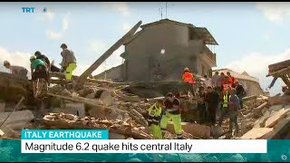 Italy Earthquake: Interview with Luigi D'Angelo from Italy s Civil Defence Organisation