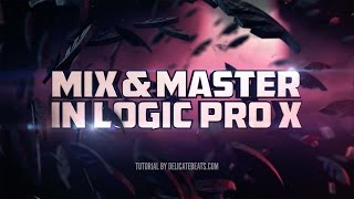 Mixing & Mastering in Logic Pro X (for beginners) | Part 1: Pop Rock