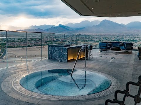 TOUR OF 180 PENTHOUSE SUITE AT THE RED ROCK CASINO HOTEL IN SUMMERLIN NEVADA NEAR LAS VEGAS