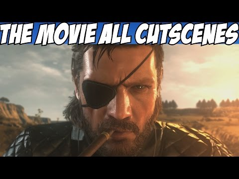 Metal Gear Solid 5 Movie All Cutscenes Story Cinematic w/ True Ending V The Phantom Pain