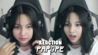 REACTION PAPOPE YANG WOW.. !! HAHAHAH #02