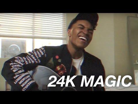 24K MAGIC - BRUNO MARS (JOSH LEVI Cover)