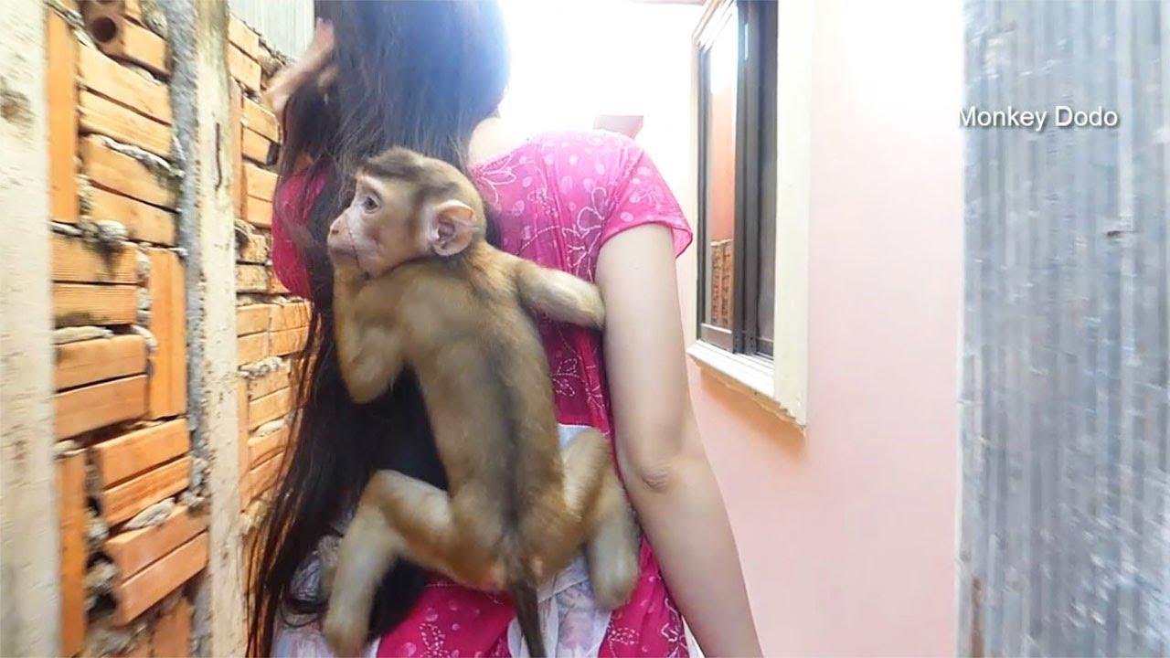 Wow Dodo Happy Hug Mom To Take A Bath With Her, Dodo Get New Clothes