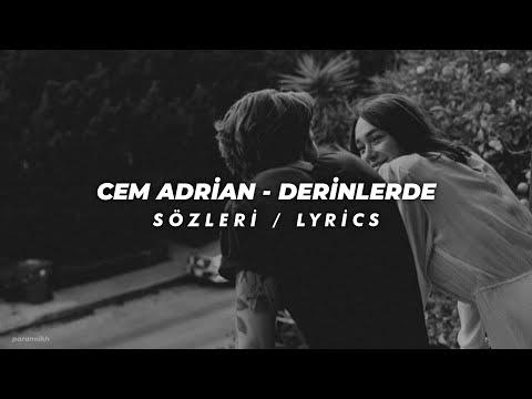 Mark Eliyahu \u0026 Cem Adrian - Derinlerde / Sözleri / Lyrics