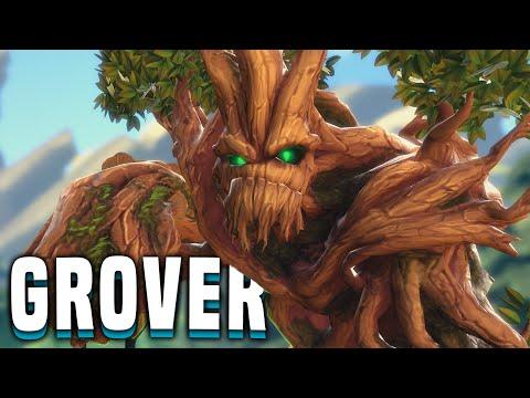 New Paladins Patch! Grover Rework! Crazy Heals! - Paladins Grover Gameplay