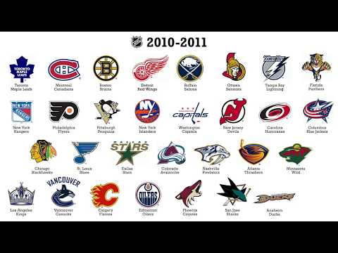 Every NHL logo between 1917 and now