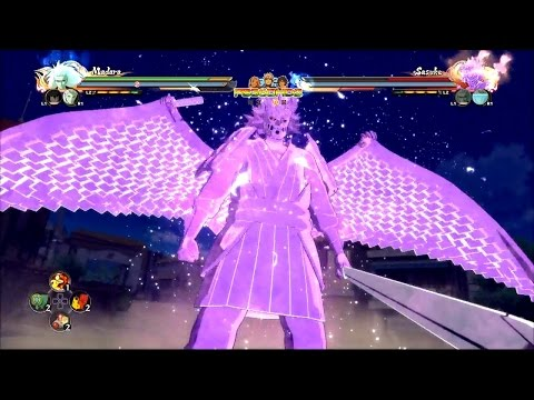 Naruto Shippuden Ultimate Ninja Storm 4 - Gamescom Demo Gameplay #8