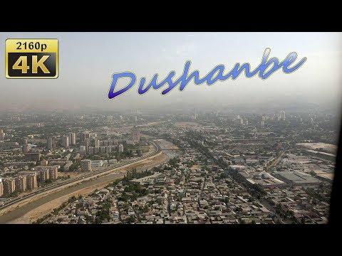 Flight from Saint Petersburg to Dushanbe - Russia, Tajikistan 4K Travel Channel