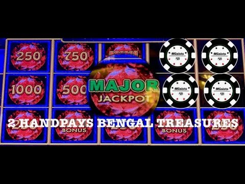 (2) HANDPAYS & MAJOR JACKPOT WON ~ LIGHTNING LINK BENGAL TREASURES & MONOPOLY MONEY VIEWER REQUEST