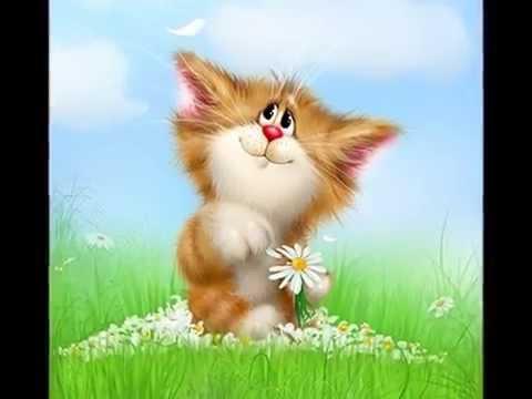 Милые котики и кошечки от Алексея Долотова