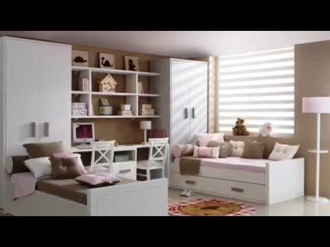 Camas dobles ni os youtube - Dormitorios dobles para ninos ...