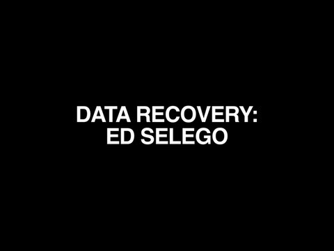 DATA RECOVERY : ED SELEGO
