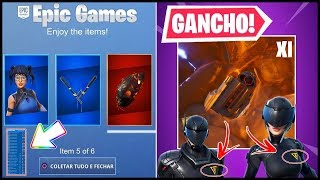 FREE ITEMS and HOOK for SEASON 11! MAP CHANGES and FORTNITE THEORIES