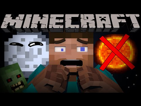 Thumbnail: If it was ALWAYS Night Time in Minecraft - Part 1