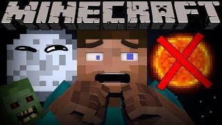 If it was ALWAYS Night Time in Minecraft - Part 1