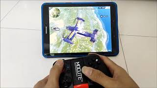 Mocute 050 Play Rules of Survival on Samsung Tab S3 (No Root)