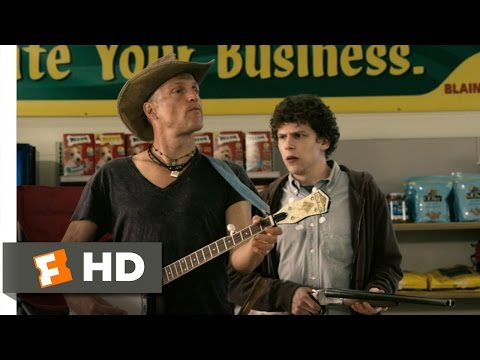 Nut Up or Shut Up - Zombieland (4/8) Movie CLIP (2009) HD