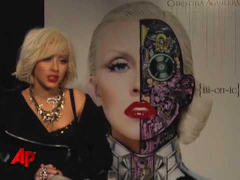 Christina Aguilera Goes 'Bionic'