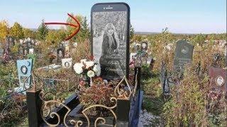 Nghiện iPhone, cô gái trẻ được chôn trong một ngôi mộ có hình chiếc iPhone