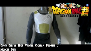 Super Saiyan Blue Vegeta Tutorial : Muscle Suit