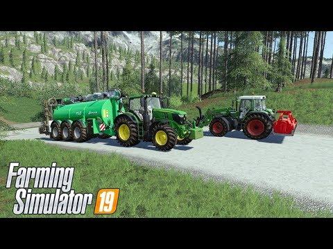 Wjazd Na Gospodarstwo. #76 Felsbrunn ☆ Farming Simulator 19 ☆ ㋡ Anton