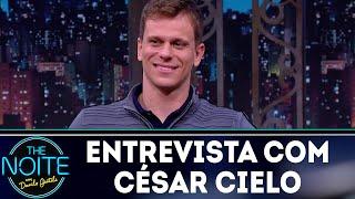 Entrevista com César Cielo | The Noite (24/08/18)
