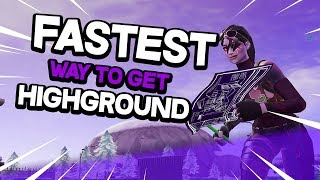 Fastest Way to get HighGround in Fortnite Switch! l Fortnite Battle Royale