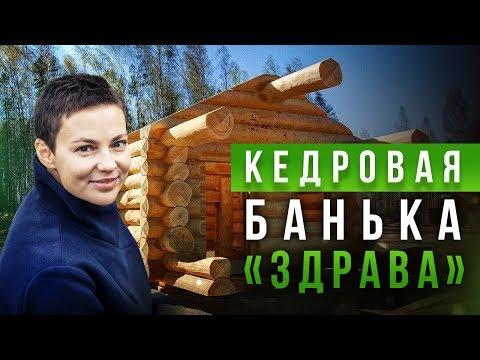 """Кедровая банька """"Здрава"""" для  молодой семьи из Казани. Отвечаю на вопросы [Drevocraft]"""